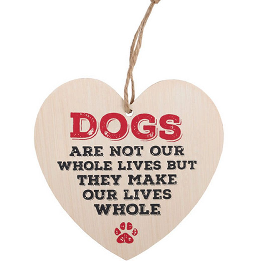 Dog Heart Plaque