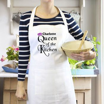 Personalised Apron - Queen of the Kitchen