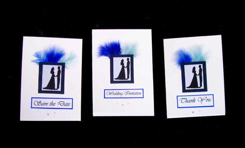 wedding 3 lots blue