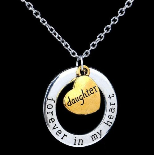 Daughter Keepsake Pendant Necklace