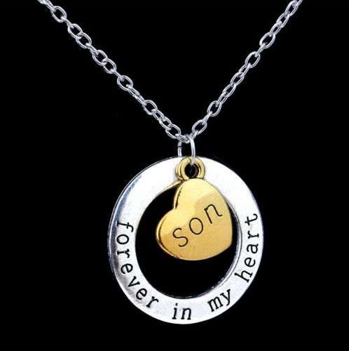 Son Keepsake Pendant Necklace