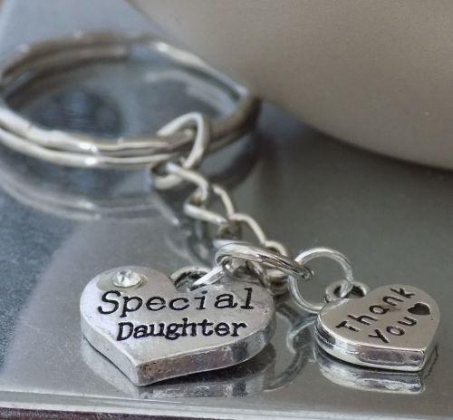 Daughter Keyring Keepsake Gift