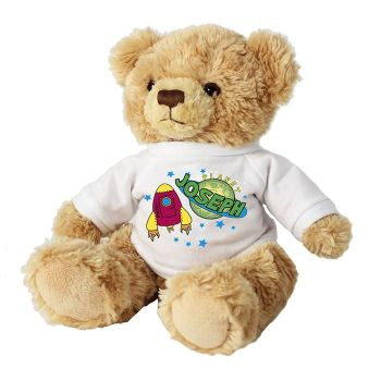 Personalised Children's Bear - Space