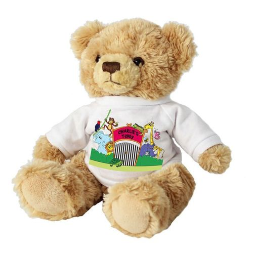 Personalised Children's Bear - Zoo