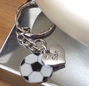 Son Football Keyring