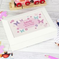 Personalised Jewellery Box (Butterfly)
