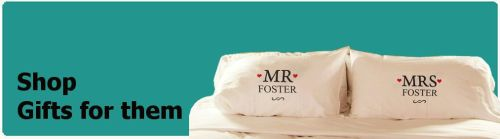 Shop personalised his and hers gifts