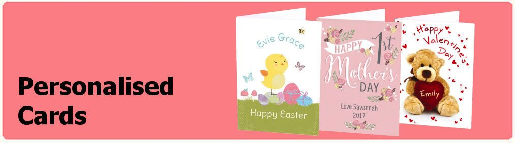Personalised greeting cards for all occasions