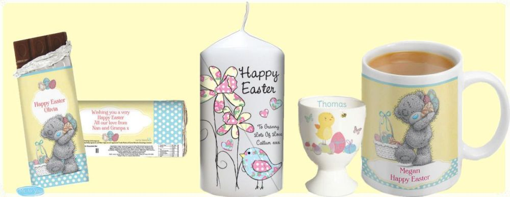 Easter personalised gifts at tnako