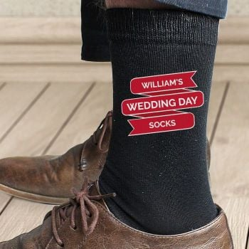Personalised Banner Design Men's Socks