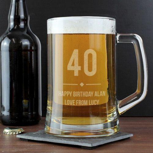 Any Age Birthday Stern Tankard