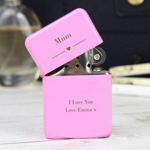 Personalised Pink Lighter