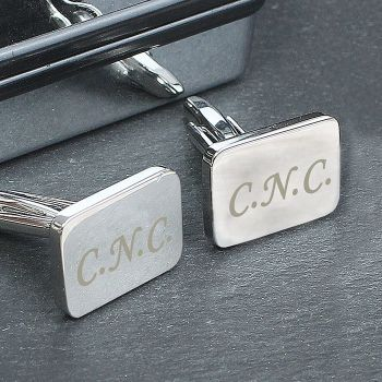 Personalised Initial Cufflinks