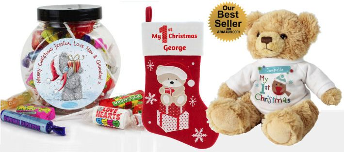 Personalised Christmas gifts at Tnako at Christmas