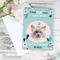 Personalised Grumpy Cat Card