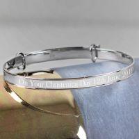 Personalised Childs Expanding Bracelet