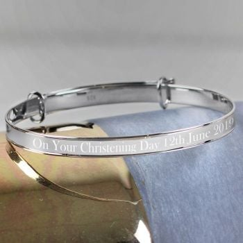 Personalised Childs Expanding Bracelet