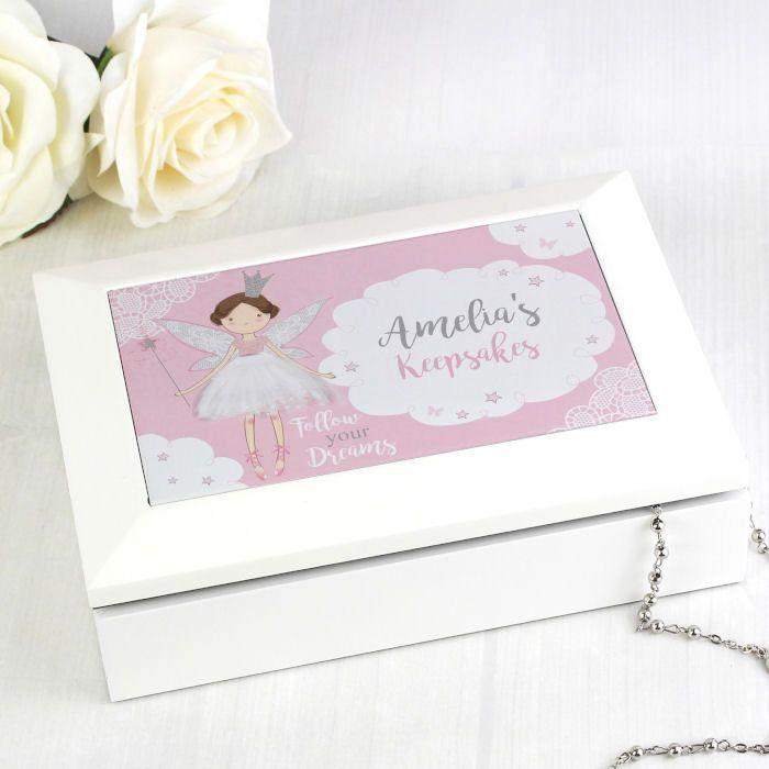 Personalised Jewellery Box (Fairy)