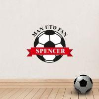 Personalised Football Wall Art