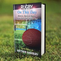 Personalised Rubgy On This Day Book
