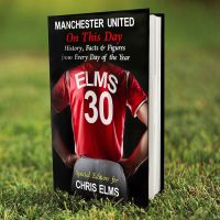 Personalised Manchester United Football on this Day Book