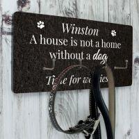 Personalised Dog Lead Hooks