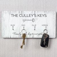 Personalised Key Hooks