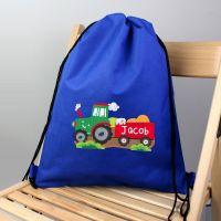 Personalised Back to School Swim Bag - Tractor