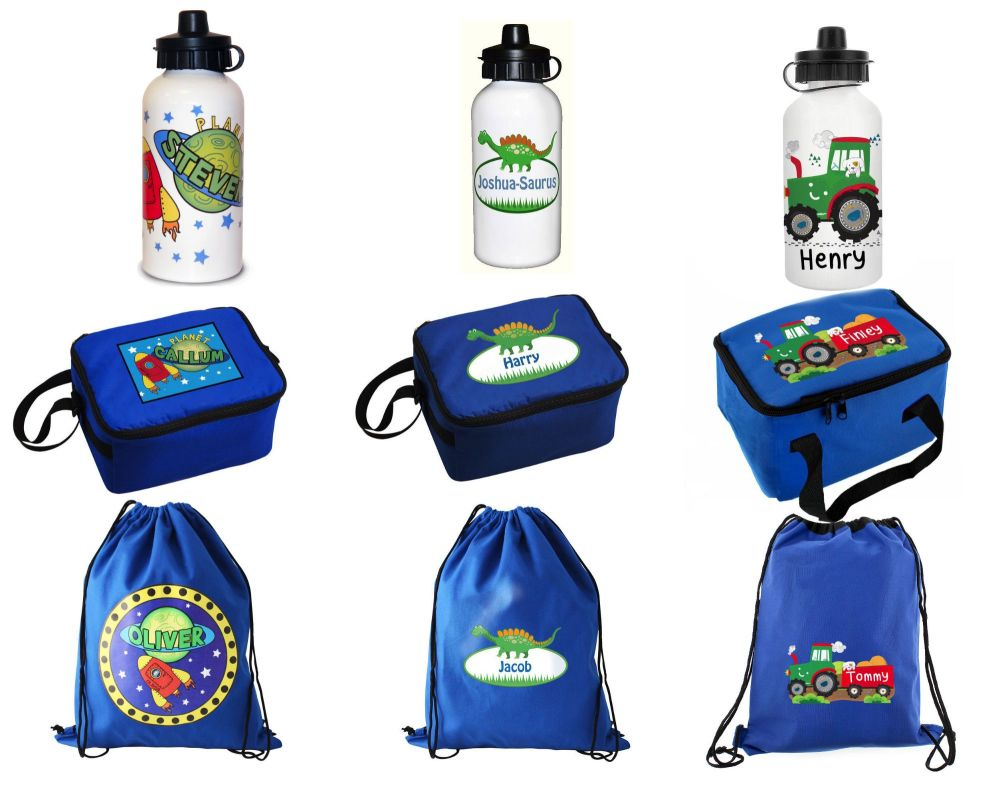 Personalised back to school gifts for boys