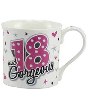 18 and Gorgeous Mug