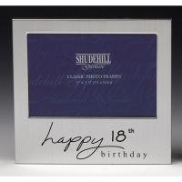 18th Birthday Silver Photo Frame