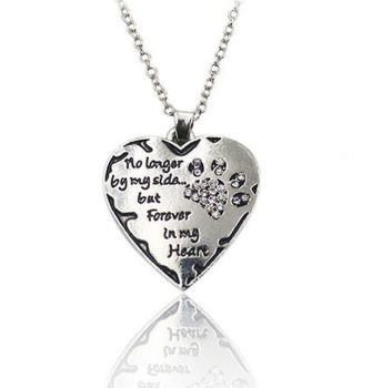 Dog or Cat Pet Memorial Necklace