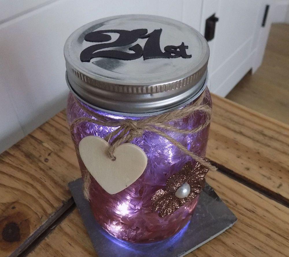 21st Firefly Mason Jar