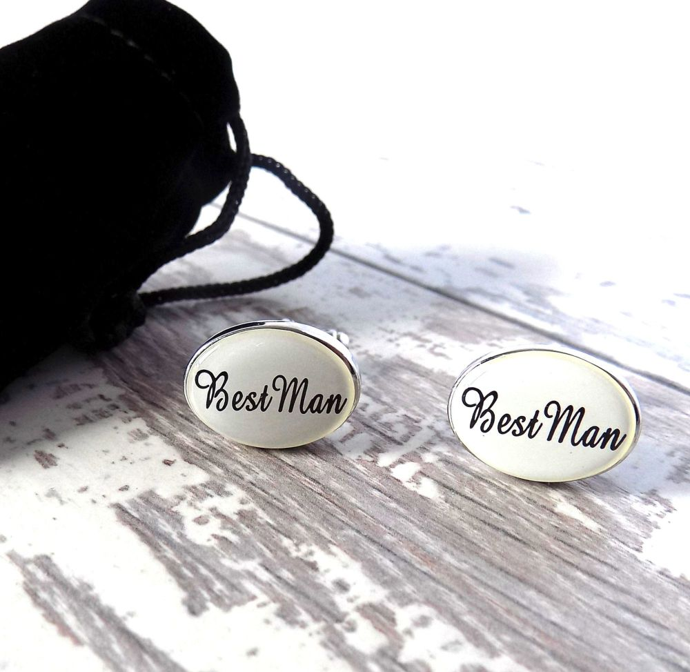 Best Man Cufflinks