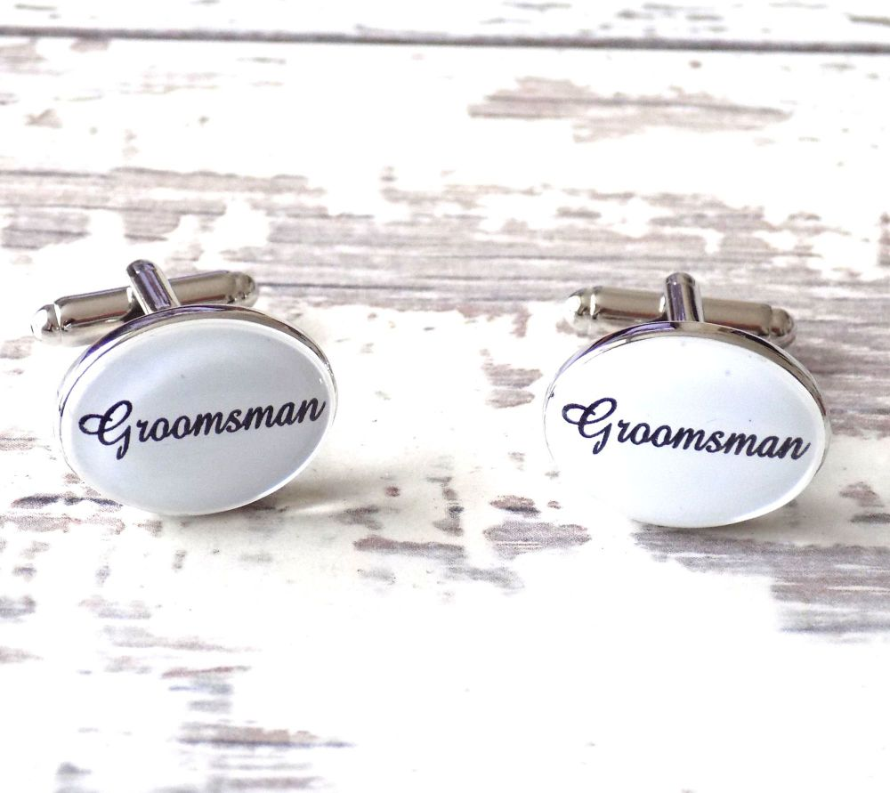 Groomsman Wedding Cufflinks