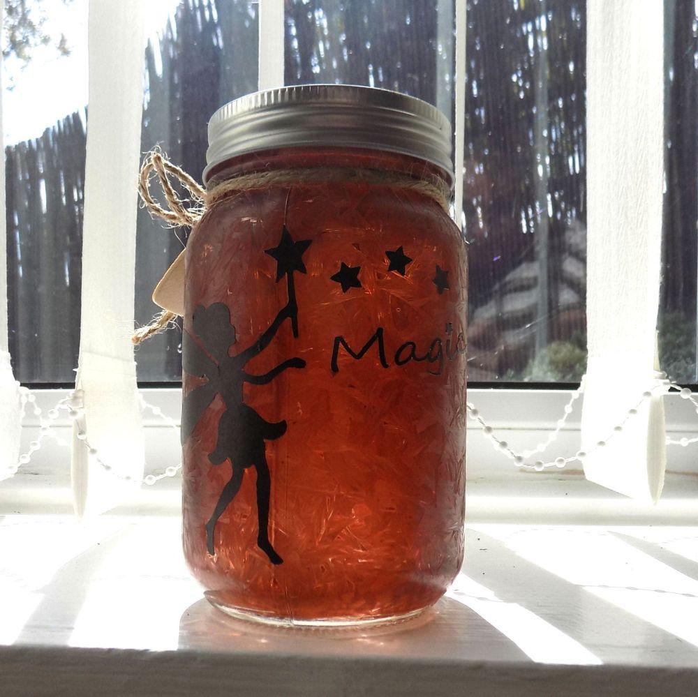 Fairy Firefly Mason Jar