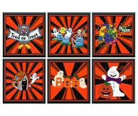 Halloween card toppers