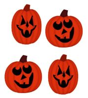 Halloween Pumpkin Card Making Toppers