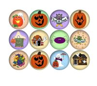 Halloween Confetti Craft Embellishments