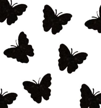 Butterfly Die Cut Embellishments in Black