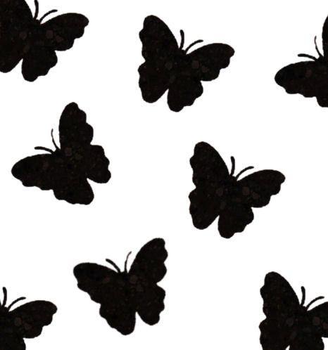 Black Butterfly Die Cut Embellishments