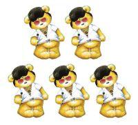 Elvis Teddy Bear Card Toppers