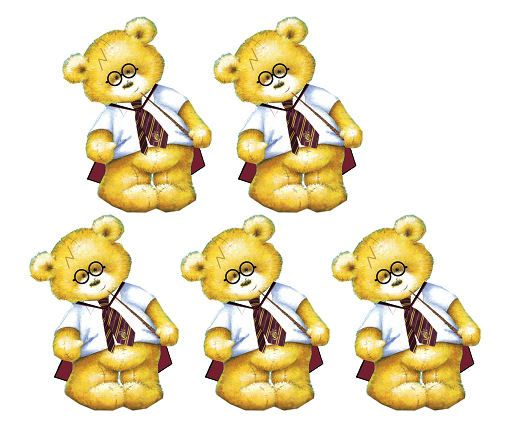 Harry Potter Teddy Bear Card Toppers