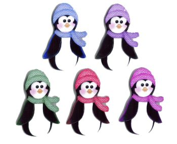 Christmas Penguin Card Making Toppers
