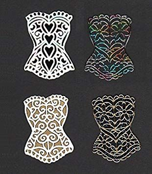 Decorative Bodices Embellishments x 6
