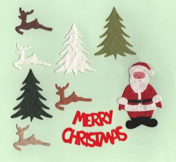 Christmas Paper Craft Embellishments