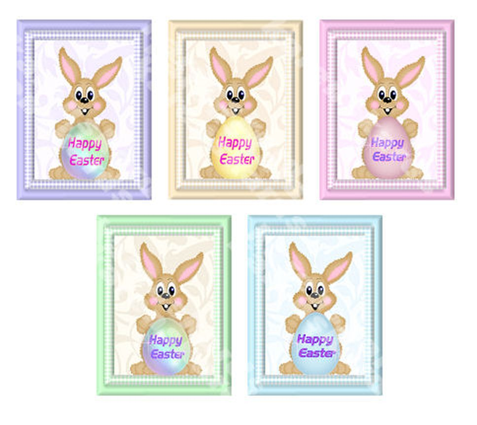 Easter Bunny Card Making Toppers - Large