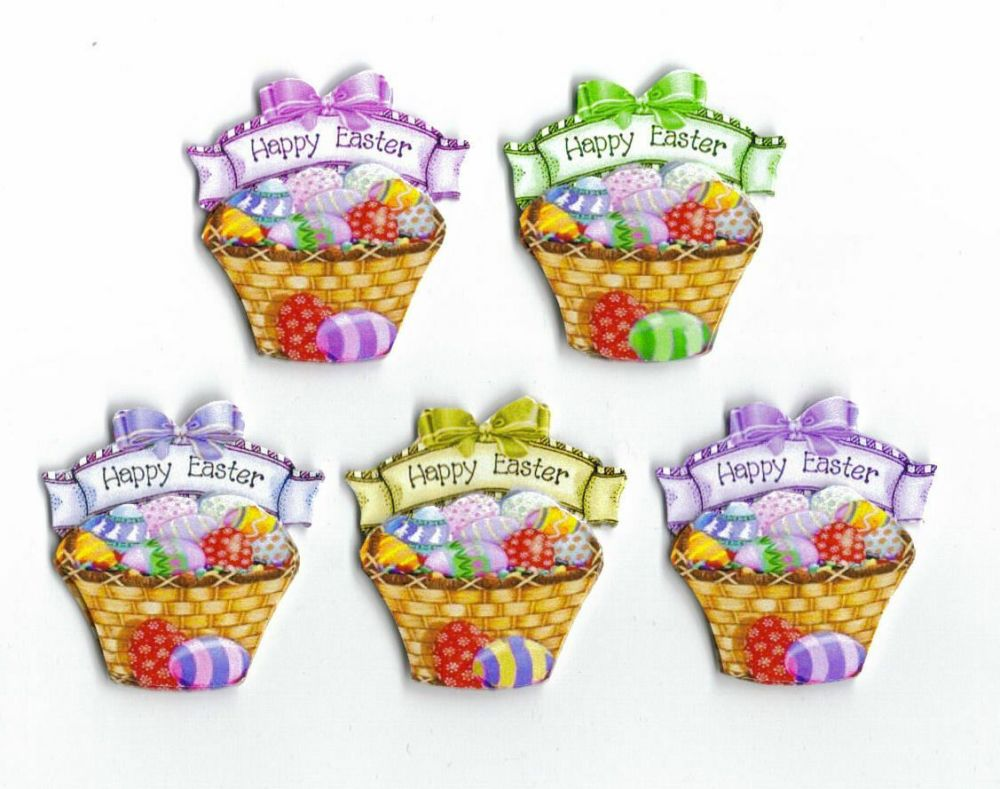 Easter Basket Card Making Toppers