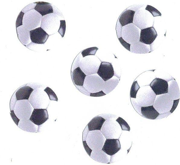 Football Die Cut Embellishments x 20