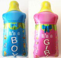 Baby It's a Boy or Girl Bottle Foil Balloon - Large